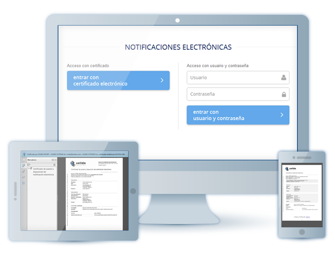 Xolido® Notify - Electronic administrative notifications and Certified electronic communications