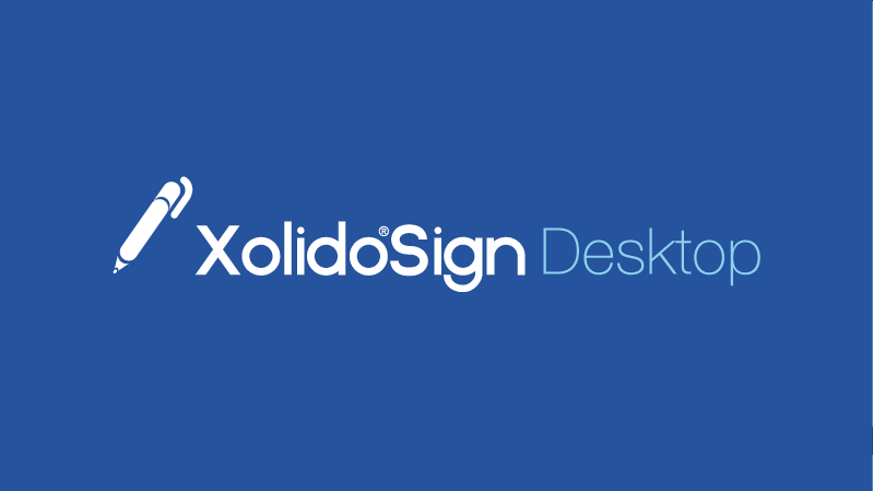 Promotional video Xolido®Sign Desktop