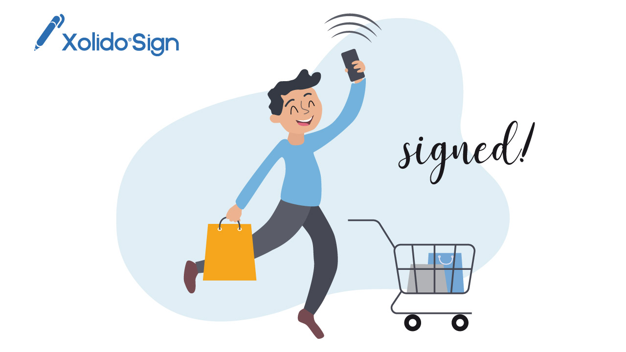 Types of signature of Xolido®Sign