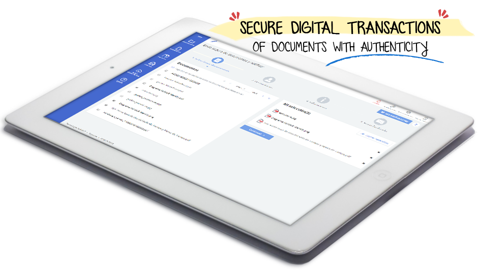 Electronic signature and security. Security in your online transactions of documents is guaranteed. Speed up your workflow!