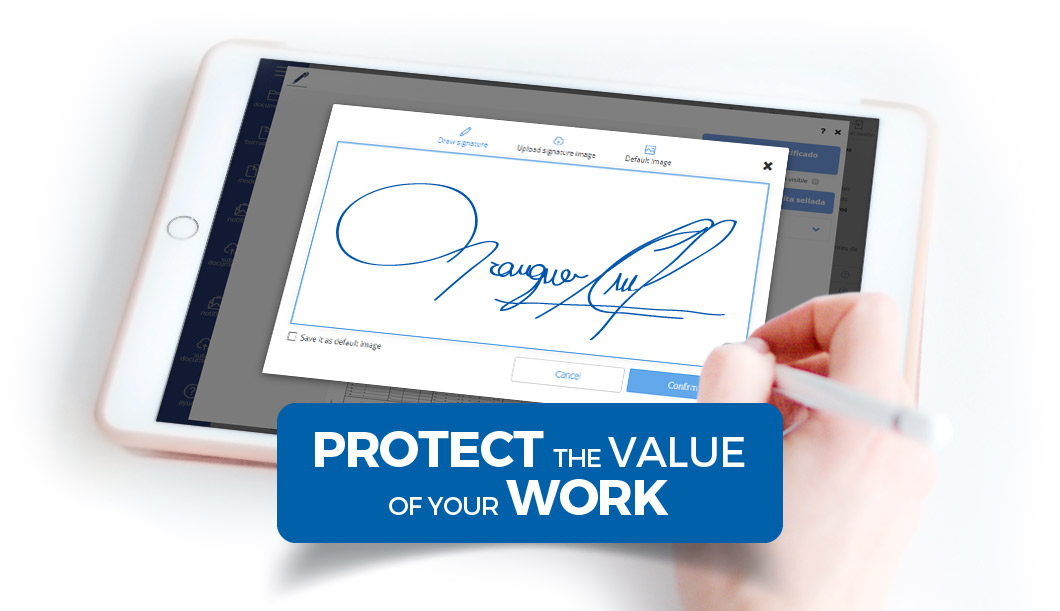 Legal and Professional Services - Protect and send your documents with the maximums guarantees of security, access and confidentiality