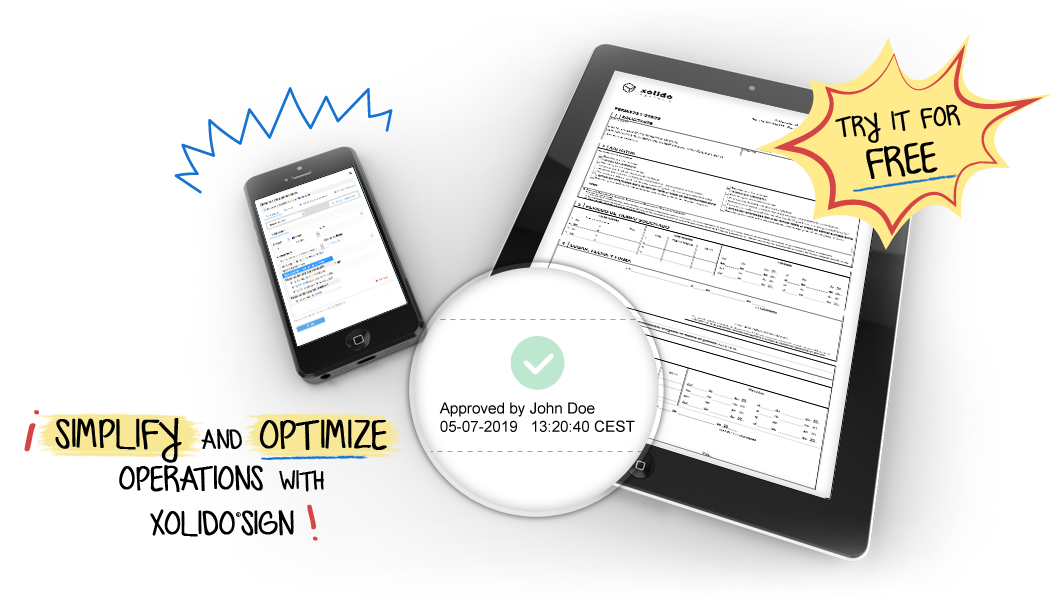 Simplify and optimize operations with XolidoSign. Now you can