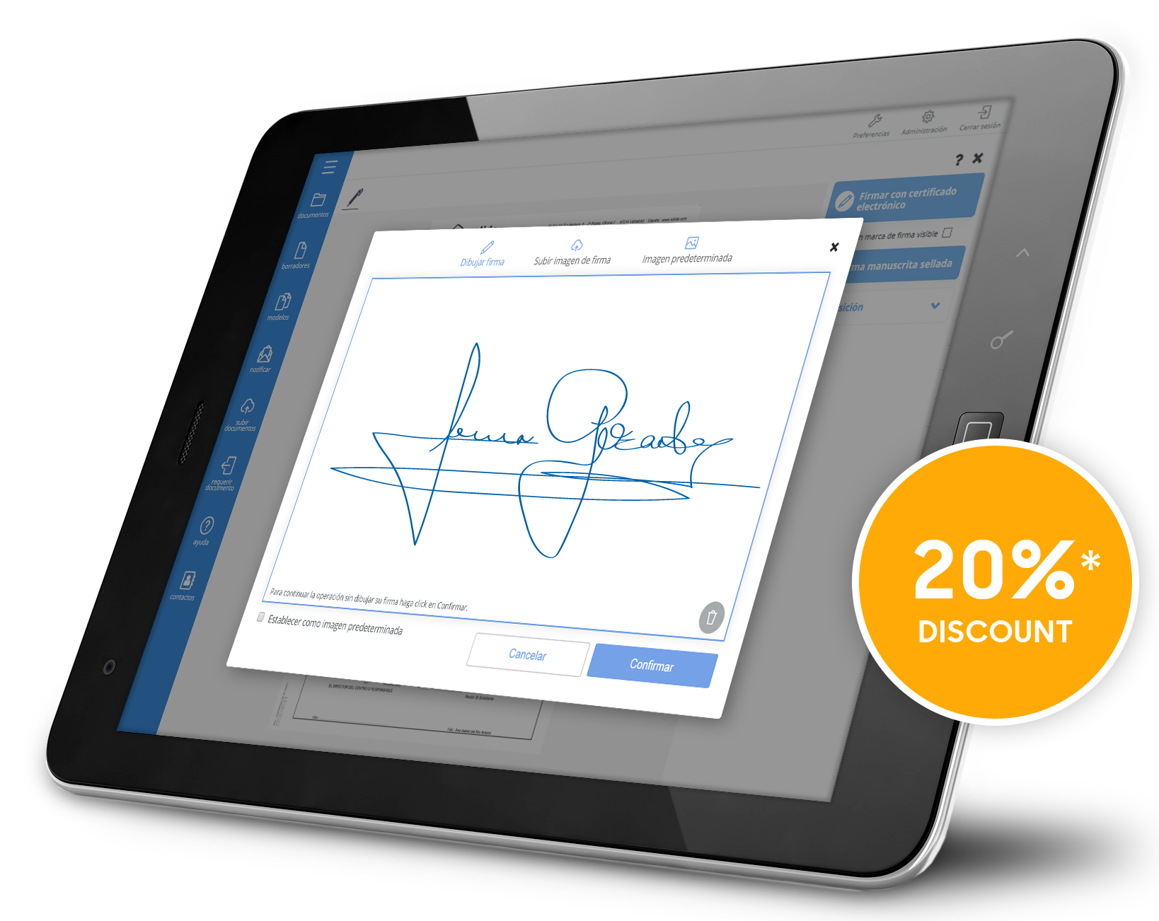 20% discount on XolidoSign Professional - Promotion 14ENISE